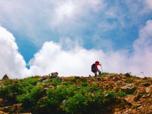 山登りは髪に良い